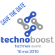 technoboost SAVE THE DATE 2018